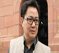 Allegations against Khadse needs to be proved first: Rijiju