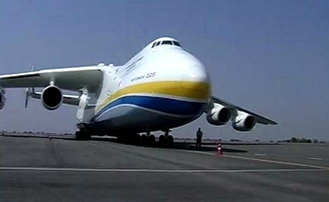 World's largest cargo aircraft lands at Hyderabad