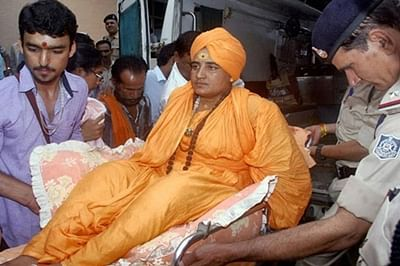 Bhopal: Drink cow urine, it will protect you from Covid, Sadhvi Pragya appeals to people