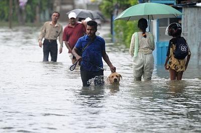 Flooded Kandivli parking lot: Residents, auto drivers to meet BMC officials