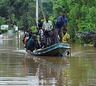 Incessant rain hampers rescue operations in Lanka's flood affected areas