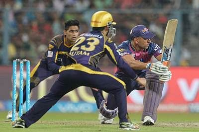 KKR beat Supergiants by eight wickets