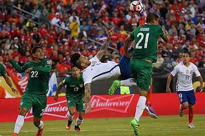 Chile snatch Copa win