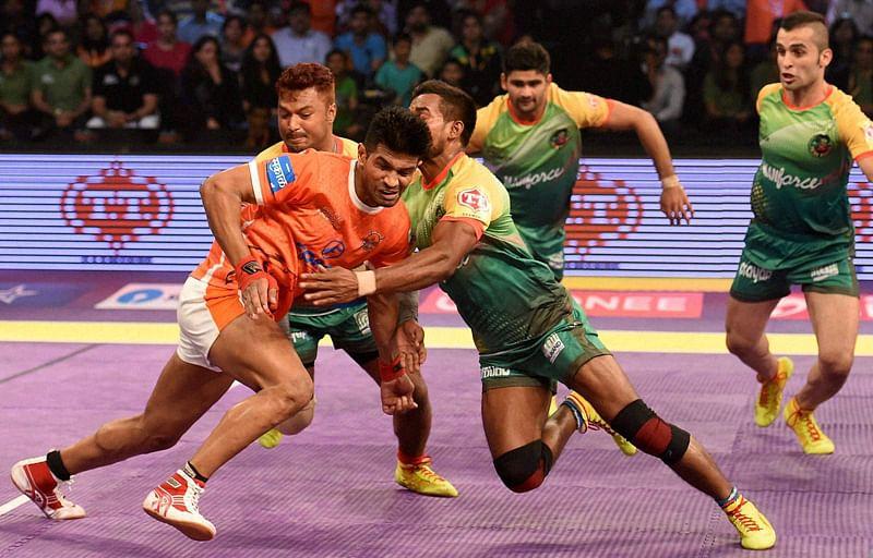 Pro Kabaddi League: Puneri Paltan produces all-round performance, beat Telugu Titans
