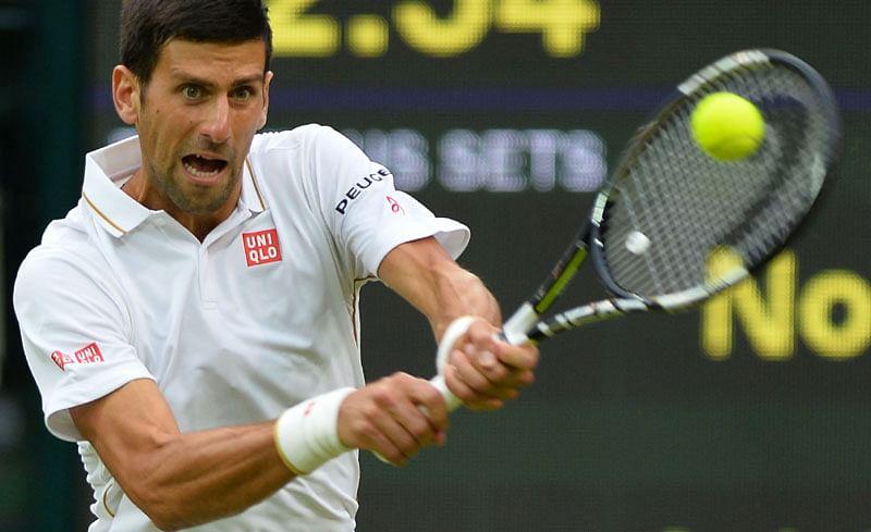 Novak Djokovic cruises