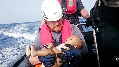Dead baby becomes heartbreaking symbol of EU's migrant crises