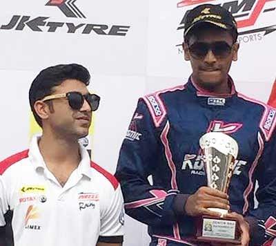 Podium finish for Nayan Chatterjee