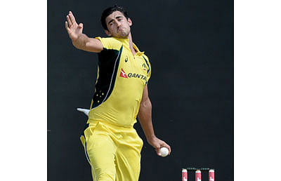 30 stitches for Australia's Starc after training mishap