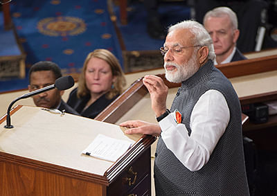 I see US as an indispensable partner of India, says Modi
