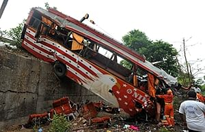 Kerala Bus Accident: 28 killed in three mishaps