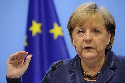 Merkel to hold talks with EU dignitaries