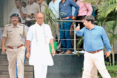Digvijay Singh questioned for 3 hrs by EOW; says case concocted