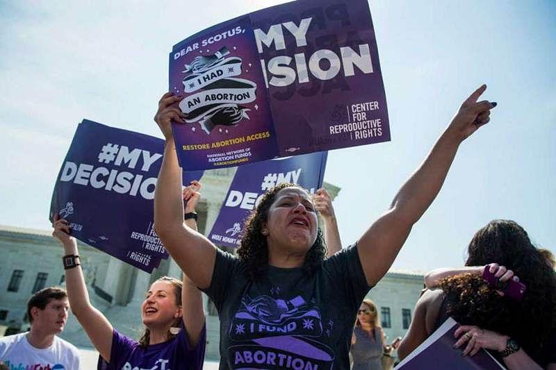 Viva women! Abortion curbs struck down in Texas
