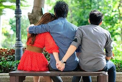 Cheating girlfriend, rejected kid, unhappy marriage