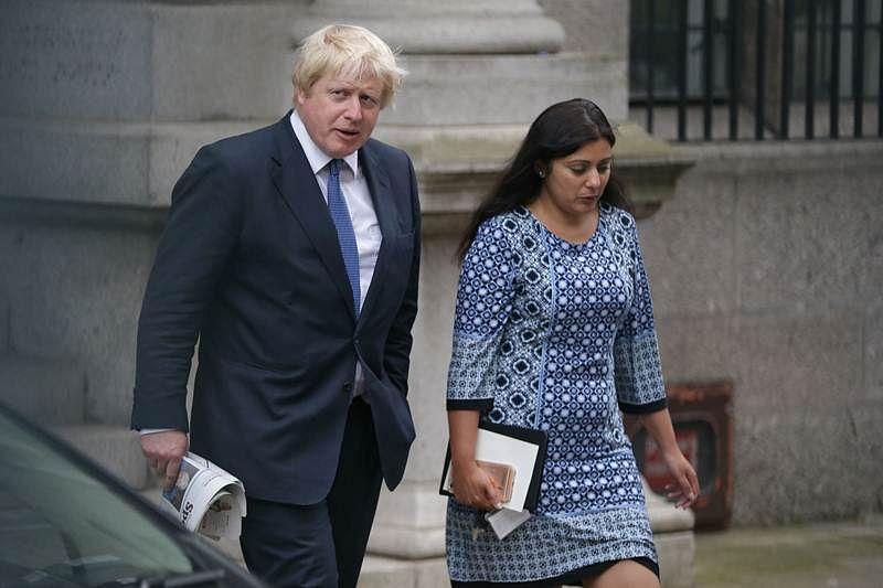 MP Priti Patel backs Boris Johnson as UK PM race gathers pace