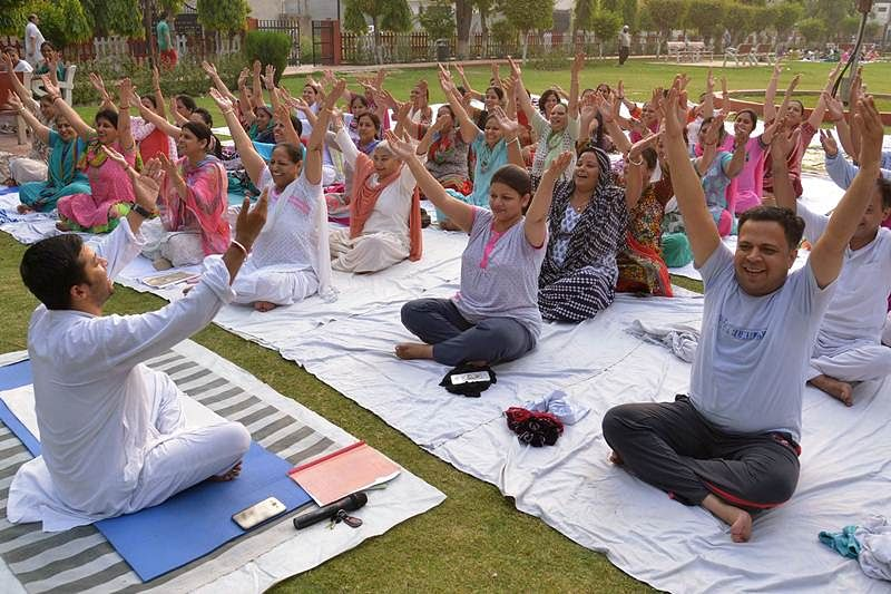 International Yoga Day 2020: Centre launches global video blog competition 'MyLifeMyYoga', winner to get Rs 1 lakh prize money