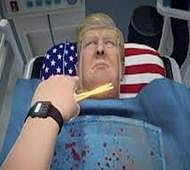 Give Trump a new heart in latest surgery game!