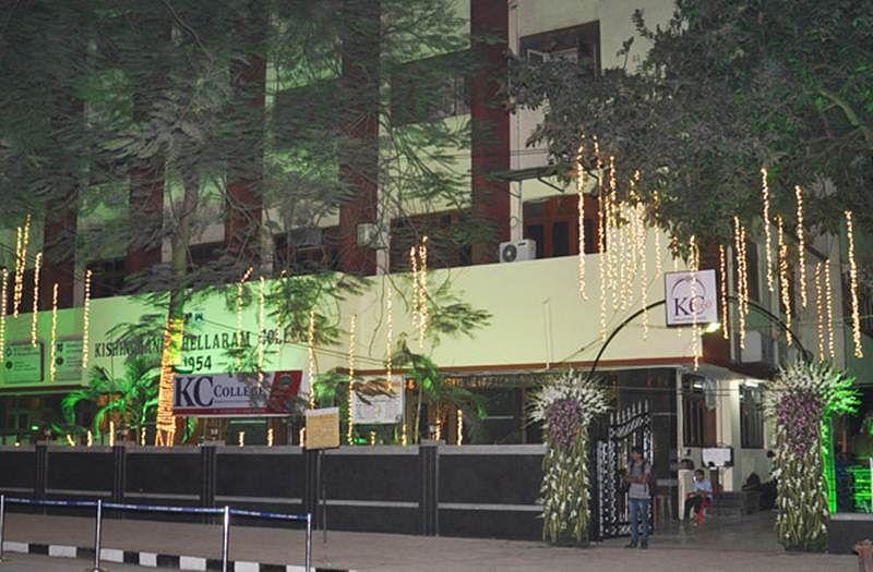 Mumbai KC college site hacked
