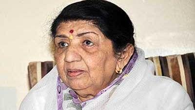 Bollywood Singing Legend Lata Mangeshkar (File Photo)