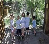 Leopard escapes at Utah zoo; visitors take shelte
