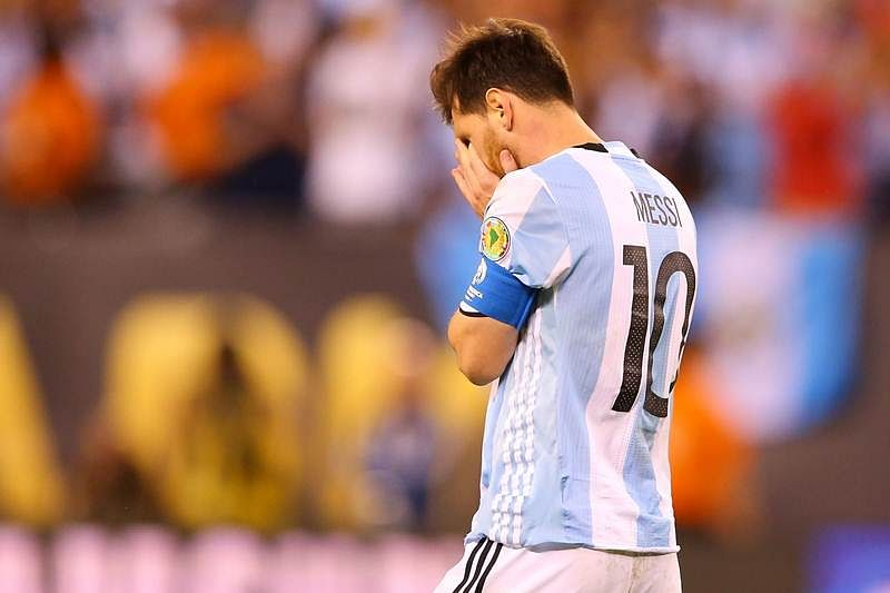 Lionel Messi banned for three months from international football