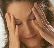 Estrogen levels drops rapidly in women with migraine