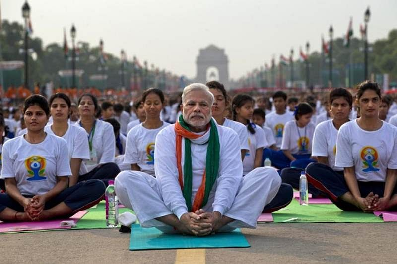 PM lauded for making yoga global event, no programme in Bihar