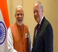 PM Modi holds delegation-level talks with Swiss President