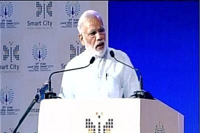 PM Narendra Modi launches Smart City Projects