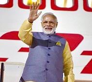 PM Modi returns home after 5-nation tour