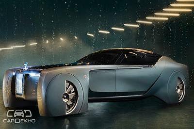 Rolls-Royce Unveils Its Vision Next 100 Concept