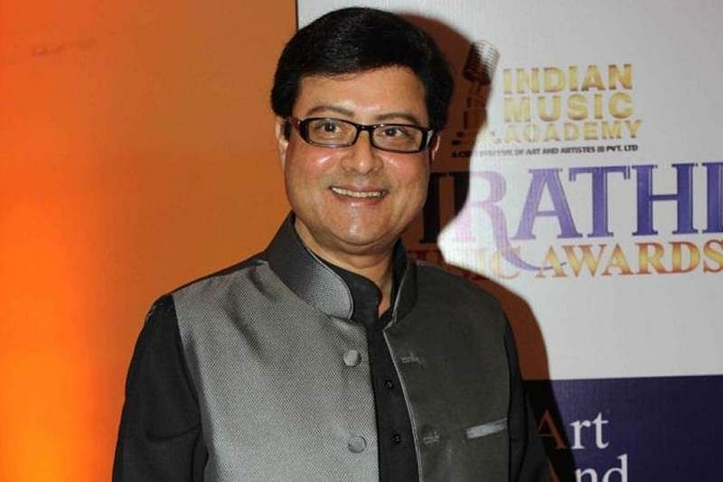 Marathi actor Sachin Pilgaonkar during the 1st Marathi music award (IMA) in Mumbai on October 26, 2013. (Photo: IANS)