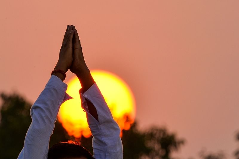 The officers and employees of all AYUSH institutions will perform yoga at home from 6.30 am to 7.45 am on June 21