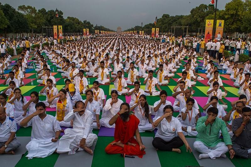 Yoga = Power says Ramdev