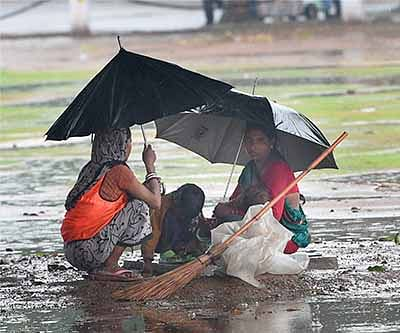 Rain, floods throw normal life out of gear across various states