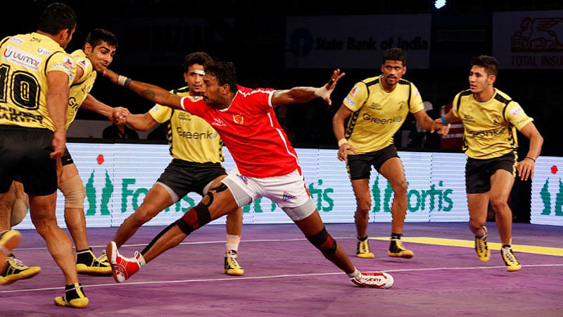 Telugu Titans Win