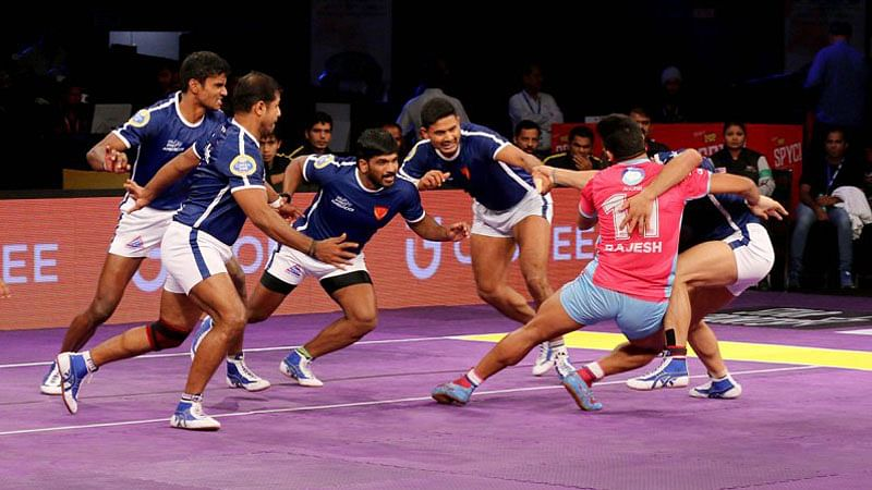 Jaipur edge out Delhi, shoot to top of table