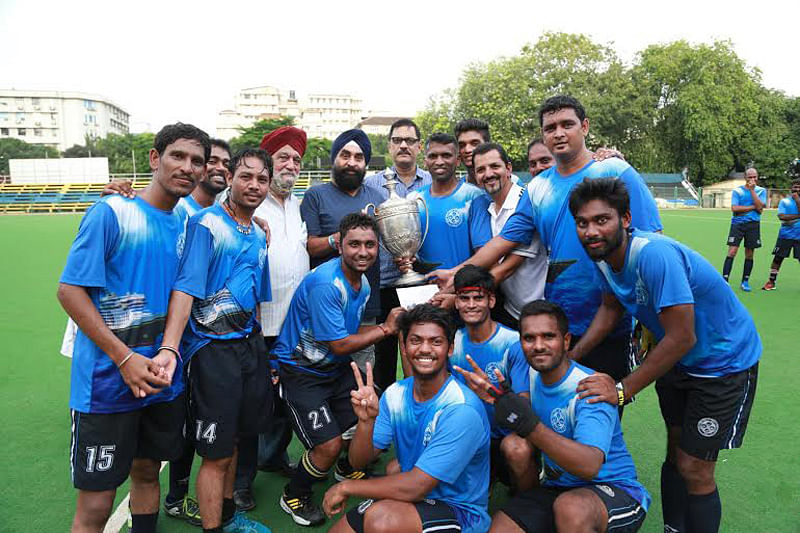 Mumbai Ports Trust rally to win title of Mumbai Hockey Association Limited League