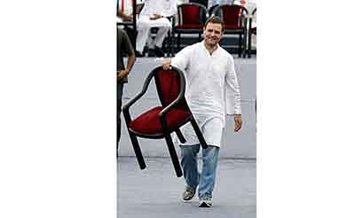 Rahul blows poll bugle  in UP; tears into rivals