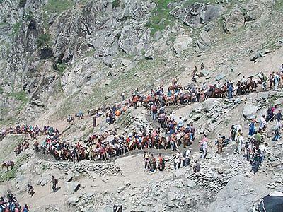 Amarnath pilgrim dies of  cardiac arrest, toll rises to 6