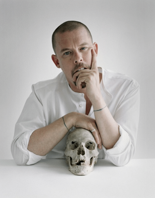Alexander McQueen's DNA used to make leather accessories