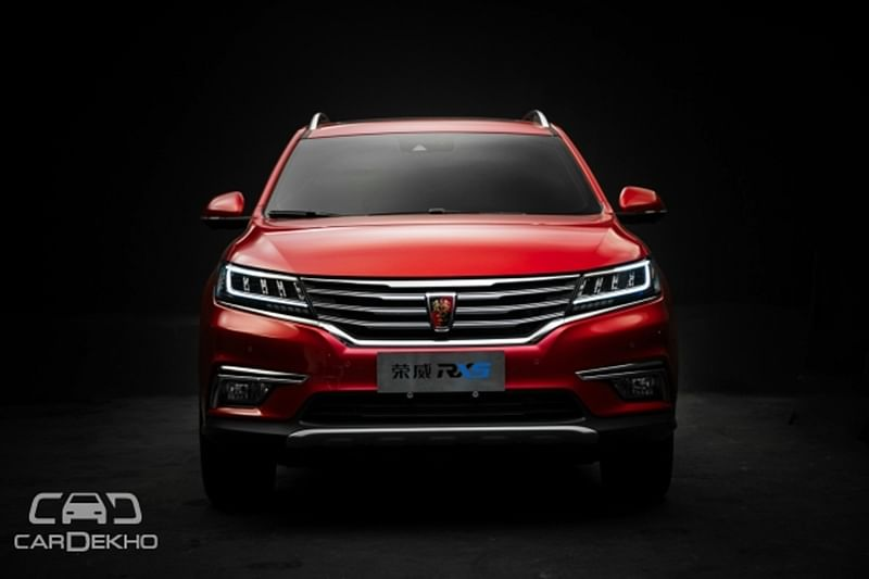 Alibaba Unveils Android-Based OS'Car RX5 SUV