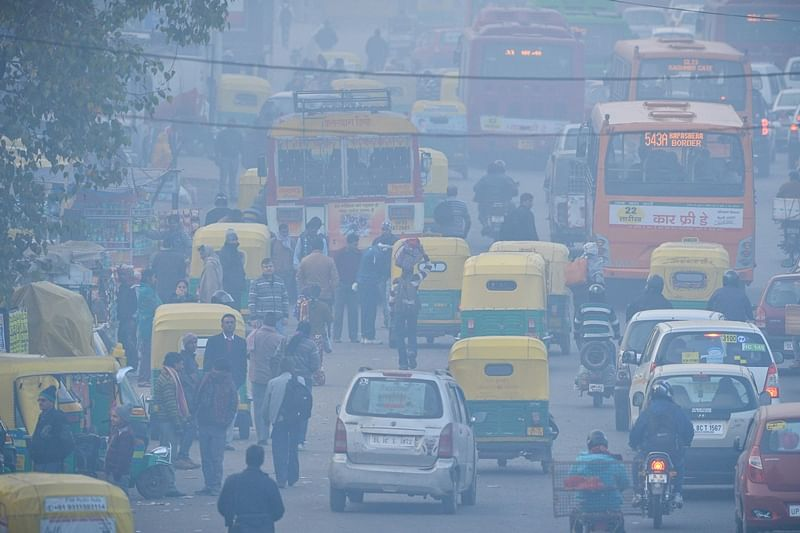 "Air quality in national capital remains in ""very poor"" category"