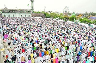 Eid celebrated with fervour