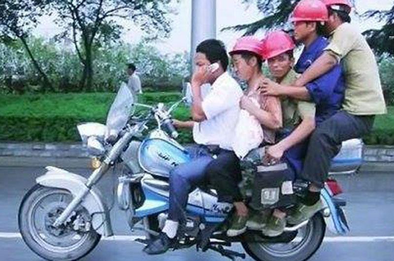 Helmet issue: State government decided, no helmet no fuel!