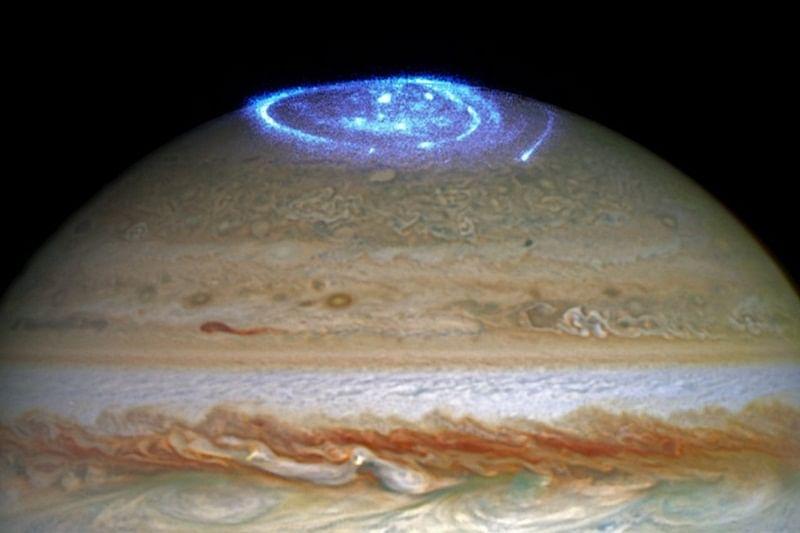 Jupiter putting on 'light show' for NASA's Juno