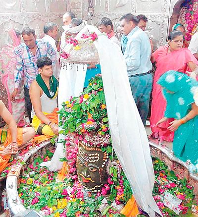 Devotees face embarrassing situation on 1st day of Sharavan month