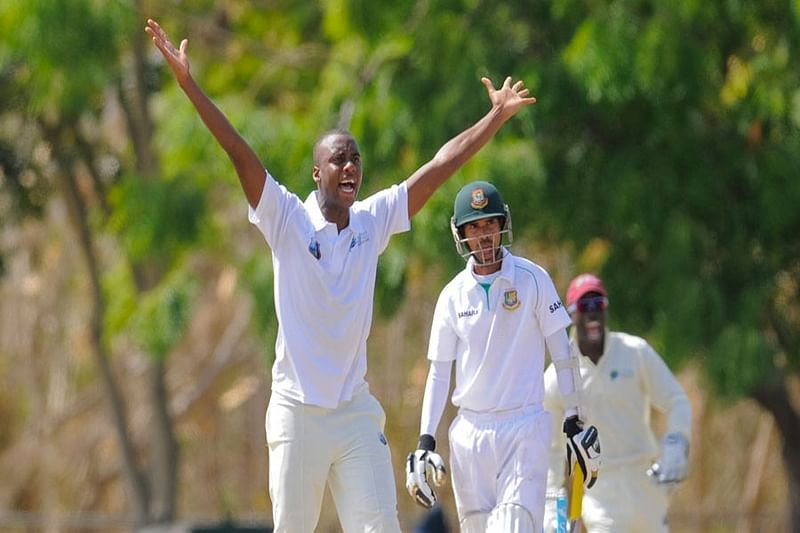 Windies rope in uncapped Miguel Cummins for first India Test