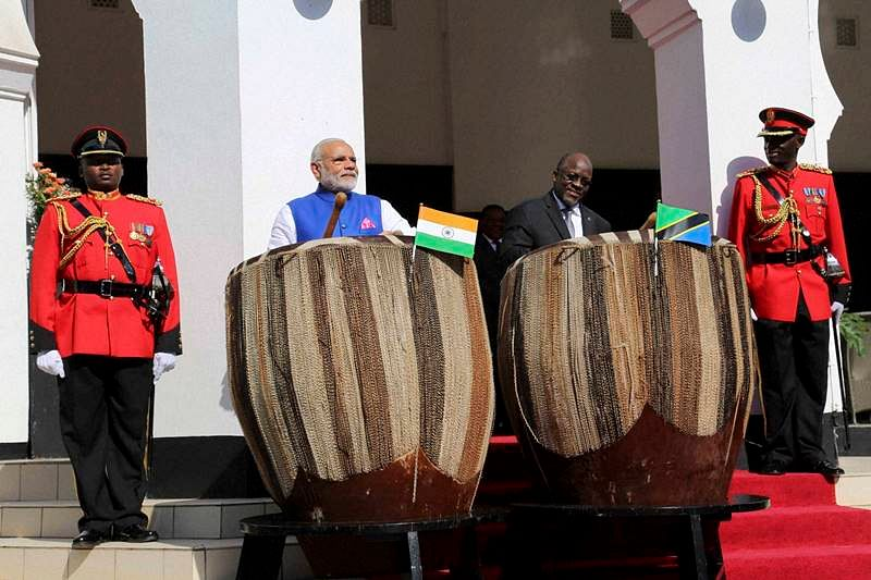 India, Tanzania sign five agreements to boost bilateral ties in Dar-es-Salaam