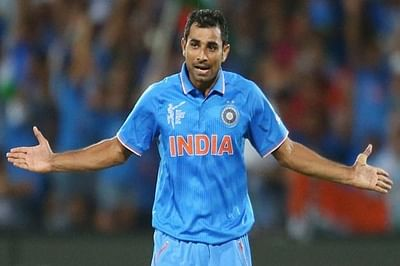 Shami gets Rs 2.2 crore for loss of pay in IPL 2015